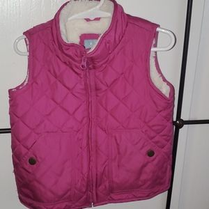 Youth girl's puffer vest